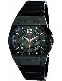 Breil orologio uomo BW0173con bracciale in acciaio INOX IP nero e quadrante nero