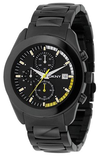 DKNY NY1283da uomo cinturino nero orologio