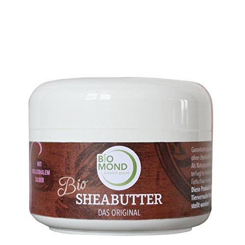 BIO Sheabutter *S* kolloidale Silber Hautcreme Body Butter 150 g / DAS ORIGINAL / mit Kokosöl /...