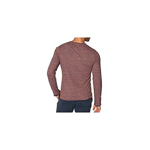 T-Shirt TOM TAILOR Special Melange Rouge