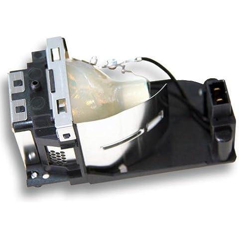 Lámpara de proyector Alda PQ POA-LMP129 / 10-341-7493 para SANYO PLC-XW1100C / PLC-XW65 / PLC-XW65K / PLC-XW6605C / PLC-XW6685C Proyectores, módulo de la lámpara con la caja