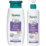 Himalaya Baby Shampoo (400 ml) and Massage Oil (500ml) Combo