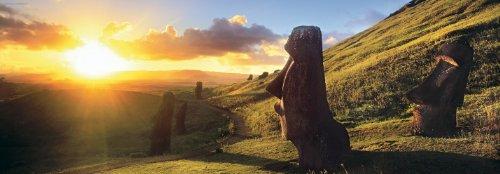 Imagen 1 de Heye Panorama Puzzle Easter Island 1000 Teile (KV&H Verlag)