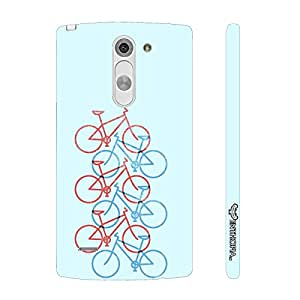 LG G3 Stylus Love Cycling designer mobile hard shell case by Enthopia