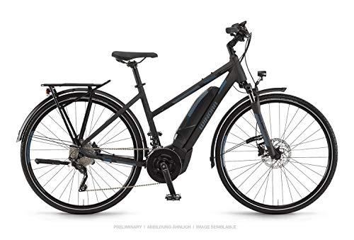 Winora Yucatan 20 500 Damen Pedelec E-Bike Trekking Fahrrad schwarz 2019: Größe: 48cm