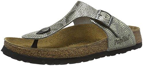 birkenstock-gizeh-leder-sandales-bout-ouvert-femme-gris-royal-python-gray-42-normal