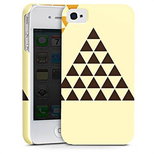 Apple iPhone X Silikon Hülle Case Schutzhülle Dreieck Pyramide Triforce Premium Case glänzend