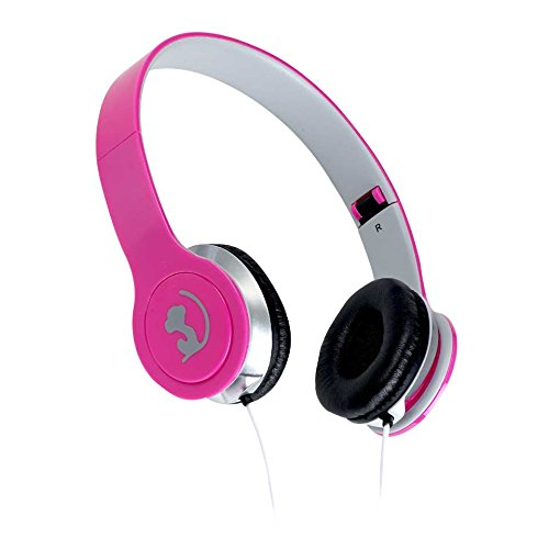 speel Goed WM HS de 650pk - Wonky Monkey Headphone Folding, Color Rosa
