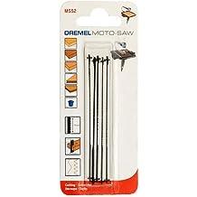Elite elección Dremel xs17-ms52Fine madera cuchillas de sierra [unidades 5] para MS20Moto-Saw [superior Spec]–Min 3yr Garantía