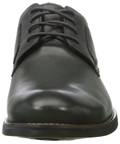 Rockport Wyat Plaintoe, Bottes homme Grey (dark Shadow Leather)