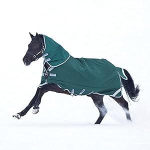 Horseware Rambo Original to Turnout 0g Grün/Silber Weidedecke Outdoordecke Regendecke
