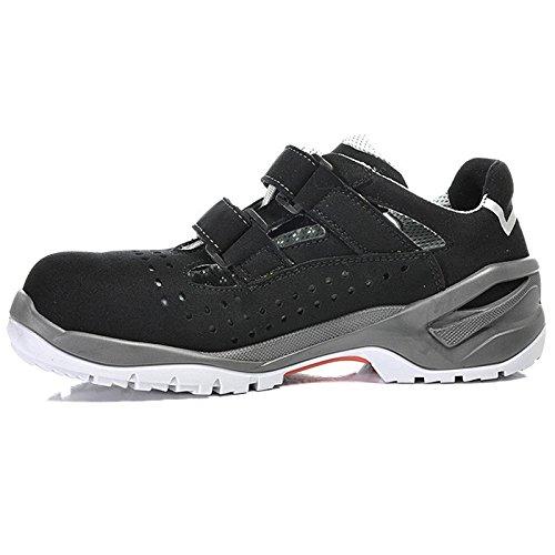 Elten 71245-46 Impulse Grey Easy Chaussures de sécurité ESD S1 Taille 46