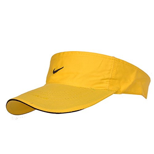Kaarq New Nike Tennis Cotton Cap for Women (Yellow)  available at amazon for Rs.299
