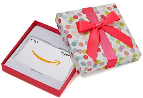 Carte cadeau Amazon.fr - €30 - Dans un coffret à Pois