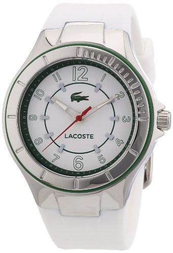 Lacoste - 2000755 - Montre Femme - Quartz Analogique - Bracelet Silicone Blanc