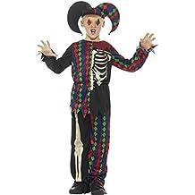 Smiffys Disfraz de Esqueleto bufón 40631254d2f
