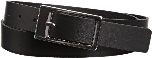 ESPRIT Damen Gürtel 993EA1S900, Einfarbig, Gr. X-Small (Herstellergröße: 75), Schwarz (BLACK 001) (Womens Designer-gürtel)
