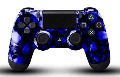 Custom PS4 Controller - Blue Skullz