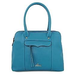Lavie Blue Color Satchel