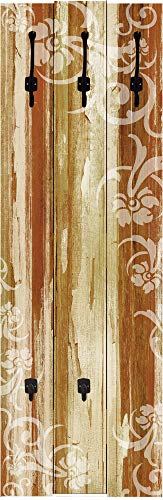 Artland Wandgarderobe aus 5 Paneelen in 114x63 cm (HXB)
