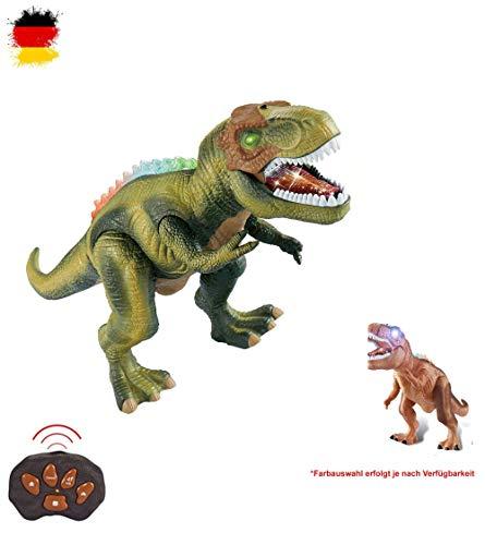 HSP Himoto XXL RC Ferngesteuerter Dinosaurier T-Rex, ca. 50cm groß, Gehfunktion, Sound- und Lichteffekte inkl. ()