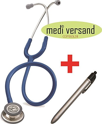 Littmann Stethoskop Classic III , navy/marineblau + gratis Diagnostikleuchte- - Littmann Ersatz