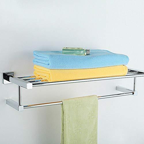 QZHE Handtuchhalter Badezimmer Aus Massivem Kupfer Badetuchhalter Toilettenpapierhalter Doppelter Handtuchhalter Badzubehör