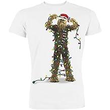 Star Wars Chewbacca Lights, Camiseta para Hombre