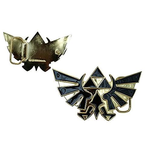 Nintendo Zelda Or Logo nouveau officiel Boucle de ceinture
