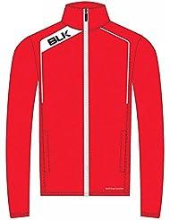 BLK Rugby Veste de survêtement Rouge