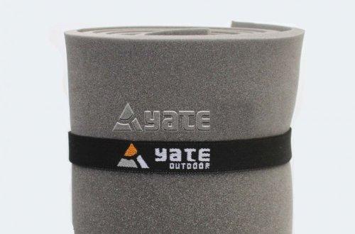 2 Stück Yate Elastikband Gummiband für Isomatte Yogamatte Gymnastikmatte