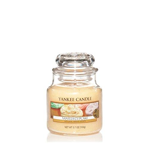 Yankee Candle Glaskerze, klein, Vanilla Cupcake
