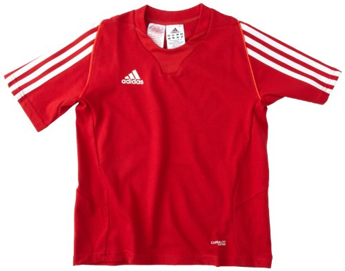 adidas Kinder Trainingsshirt T12 Team Short Sleeve Rot/Weiß