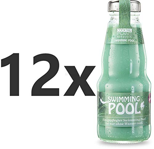 Cocktail Plant Swimming Pool (10,1{1c87314319a75319820145c1becc7a6b187fb87e4457f728e7522c7ac6d0b307} Vol) 12x 0,2l = 2,4l - inkl. Pfand MEHRWEG - [Enthält Sulfite]