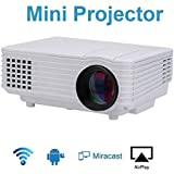 Bring Fun With Our New Indian Brand PLAY™ 2000 Lumen Android 4.4 OS System Projector Portable Smart HD, TV, LED, 1080P Built - 1 Year Warranty With Customer Service - B076PNSHGJ