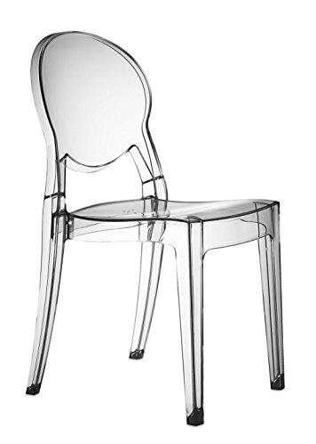 Set 2 sedie Igloo Chair Colore Trasparente