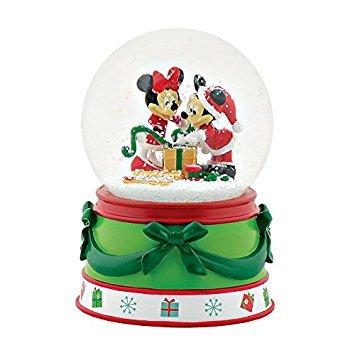 Department 56-Mickey & Minnie Snow Globe (Globes Disney)