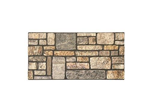 Rivestimento parete in polistirolo per cucina • camere da letto • balconi • salotto | pannelli decorativi effetto pietra | arredamento moderno | 120cm x 50cm x 2cm trendline nature 18