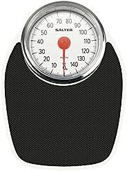 Salter Bilancia Pesapersone Meccanica, Analogica, Stile Retrò, Capacità di Peso 150 kg, Precisa e di Facile Le