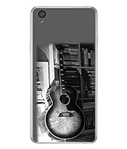 FUSON Designer Back Case Cover for OnePlus X :: One Plus X (Art Classic Guitar Hobby Instrument )