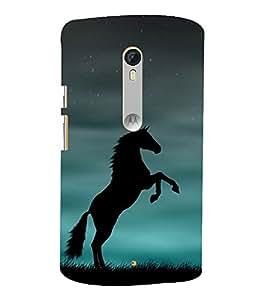 Fuson Designer Back Case Cover for Motorola Moto X Style :: Moto X Pure Edition ( Greenary Wood Rose Tiger Bee Bird )