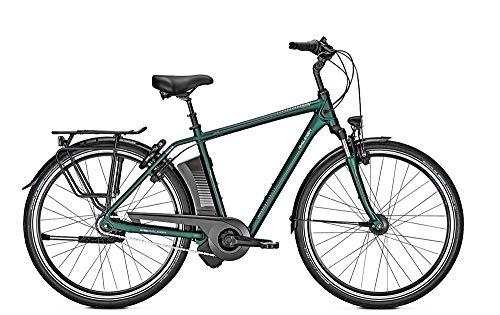 RALEIGH Dover XXL Rücktritt 17Ah Herren E-Bike Cityrad kombugreen matt 2019 RH 55 cm / 28 Zoll