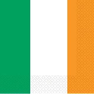 amscan PPP Servietten Irische Fahne, 33 cm