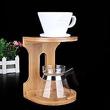 EgoEra® Kaffeefilterhalter/ Teefilterhalter/ Bambus Kaffeefilter Halterung Gestell Lagerung Veranstalter