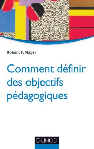 Comment définir des objectifs pédagogiques - 2e éd.