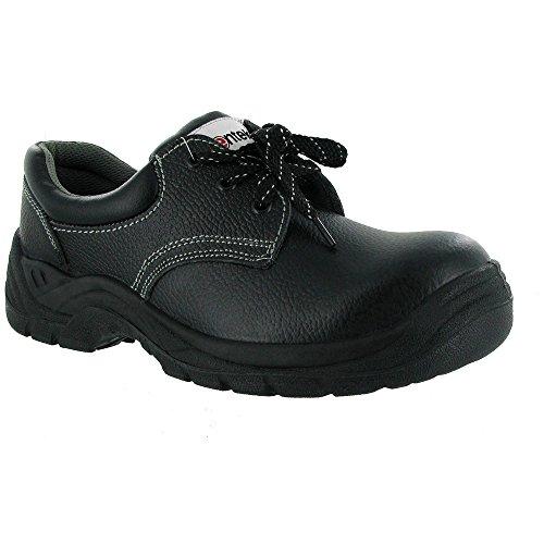 Centek berufsschuhe businessschuhe chaussures s1P chaussures de sécurité noir chaussures de très petites imperfections) - Noir - Noir, 39