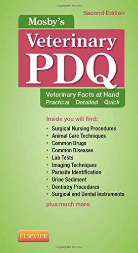 Mosby's Veterinary PDQ, 2e por Margi Sirois EdD  MS  RVT  LAT