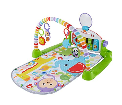 Fisher-Price - Gymnase Bébé Piano pataditas Superaprendizaje, Multicolore (Mattel FWT12)