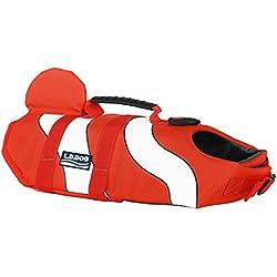 Chaleco salvavidas para perros y otras mascotas Jeerui, ideal para natación y para que tu cachorro esté seguro en el agua