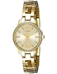 Guess - W0568L2 - Montre Femme - Quartz - Analogique - Bracelet Acier inoxydable doré
